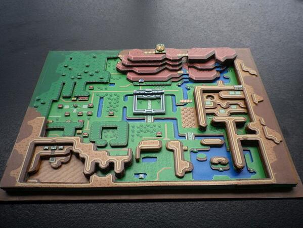 レトロゲームの2D画面を紙で3D化したファンメイドのジオラマ ift.tt/1jltSwO pic.twitter.com/4RxQ5pbYto