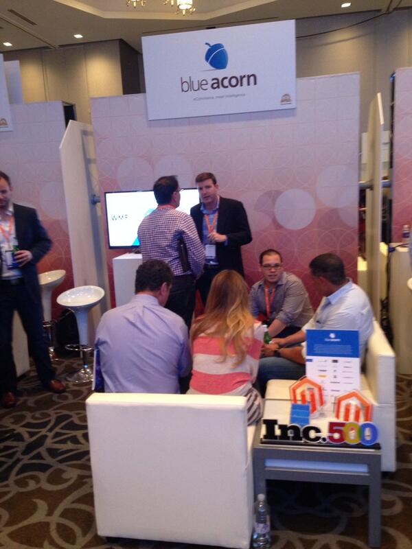 emily_allender: Ecommerce, meet intelligence. #MagentoImagine Merchants, come by the @blueacorn booth http://t.co/kVSnNC203z