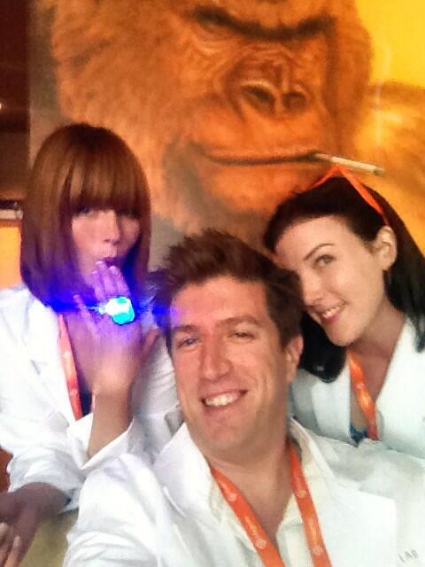 thebuzzlab: Sometimes the elephant in the room is a smoking gorilla. #MagentoImagine http://t.co/V0TlMTeC9D