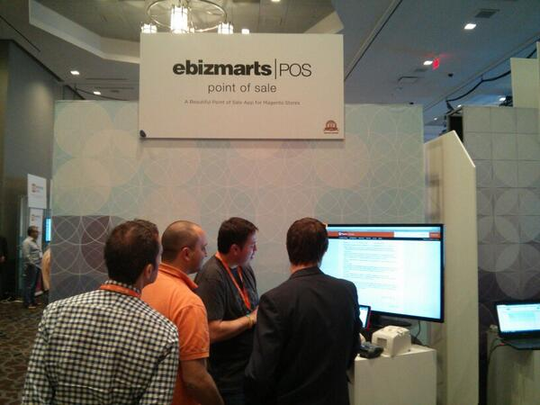 sweettooth: Checking out the new POS solution by @ebizmarts - This looks really slick. #MagentoImagine http://t.co/GNiNBlW2G5