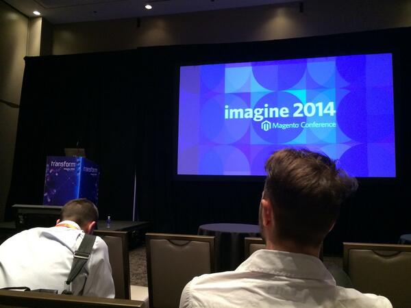 onetreeows: Ready for the next session of the barCamp #MagentoImagine http://t.co/1jrergfdHF
