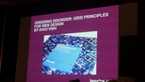 flagbit: #MagentoImagine this book was recomended on patterns at design barcamp. Sounds interresting! http://t.co/qBNedDbkhH