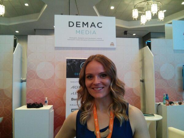 sweettooth: Go visit @demacmedia and talk all things commerce - booth 76 #MagentoImagine http://t.co/UDGNnnttaB