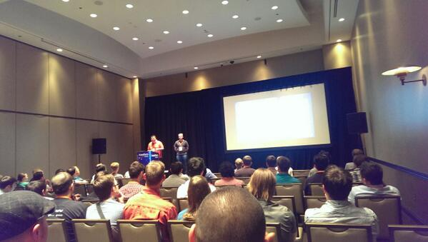 rogyar: Many people are interested in how to handle TDD in #Magento development #MagentoImagine #BarCamp http://t.co/uwxVEsQf0u