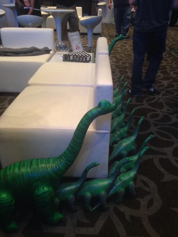 pixafy: We spotted #Bronto's booth - great catching up with some of their team members @magentoimagine http://t.co/awQ0hNH9xs