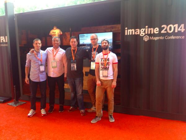 MrBoxpark: The @Boxpark Marketplace team  @magentoimagine in Las Vegas http://t.co/bBNzFAFksh