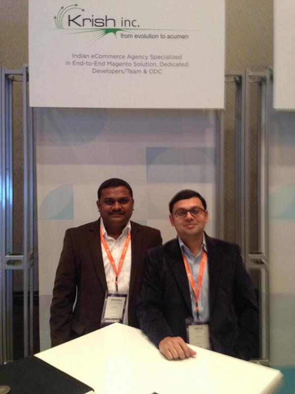 Krish_Inc: Don't forget to meet us & exchange ideas at #MagentoImagine! http://t.co/qGqzsisowE