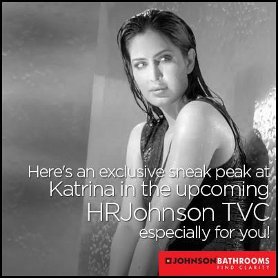 Katrina Kaif Online On Twitter New Johnson Bathrooms Ad With Will Be Out 5pm Ist Http T Co Ejk8cmfek7