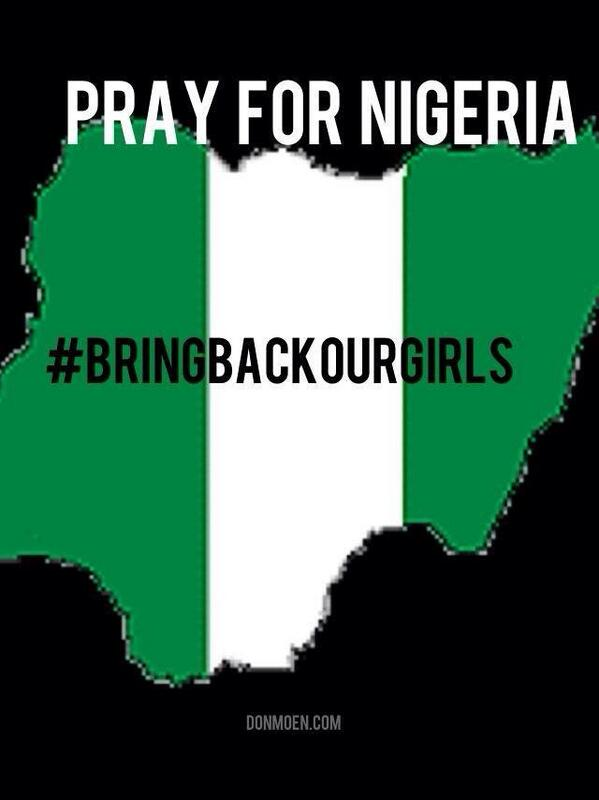 Join with me in praying for Nigeria and the Nigerian school girls. #BringBackOurGirls  #Nigeria http://t.co/OyzBiJFd8U