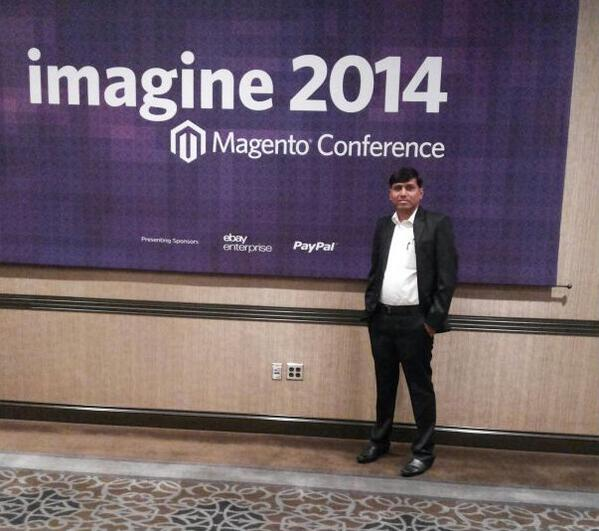 Brainvire: So we are here at Imagine Ecommerce Conference Meet us at @magentoimagine #MagentoImagine http://t.co/jVG7hGVvKp