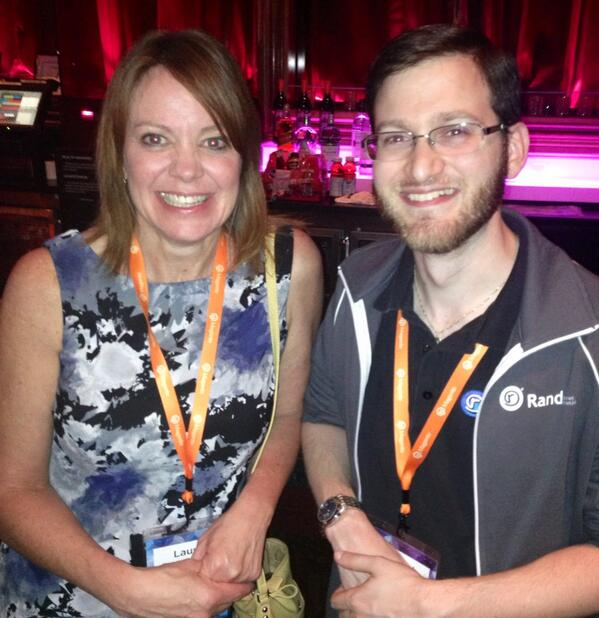 lauracoffee: Great time hanging out with Robert @RandSEO  @ the #MagentoImagine  event http://t.co/vTQF0sLxS4