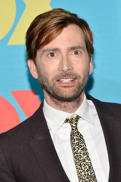 David Tennant at FOX TV Upfront for Gracepoint