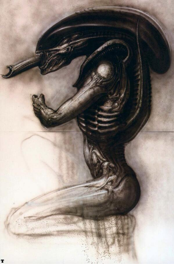 R.I.P. HR Giger, and thank you for your beautiful monsters. http://t.co/zIewWA5u19