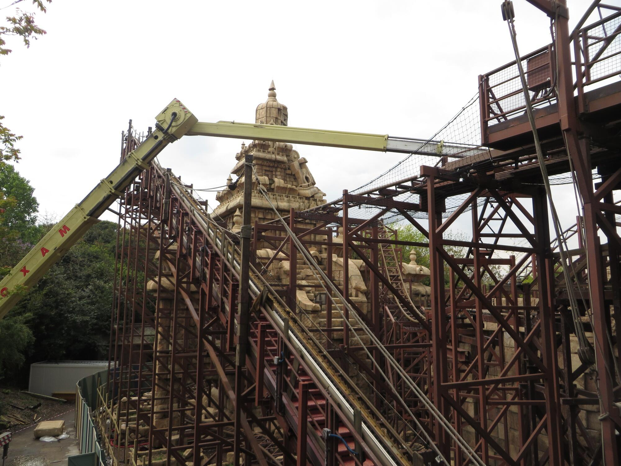 The great new world discussion thread page 103 - The Big Refurbishment For Indiana Jones And The Temple Of Peril Is Nearly Concluding Attraction Due To Reopen May 29