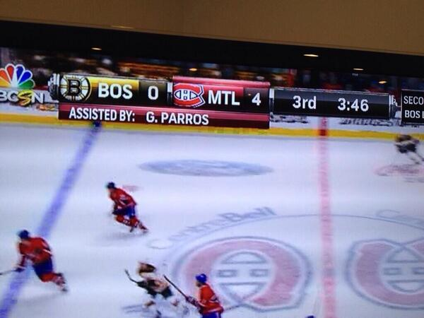 Gotta be the first ever playoff press-box assist! Should have put a bonus in my contract for that... http://t.co/daKIqYjH5Z