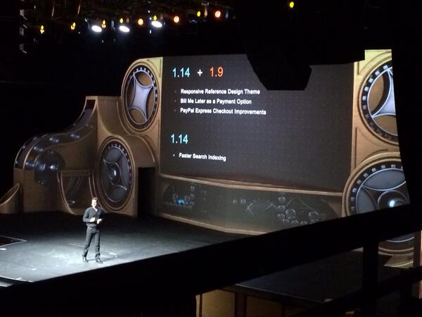 magento_rich: New features in EE 1.14 and CE 1.9 #MagentoImagine http://t.co/tX3ul6MaQv