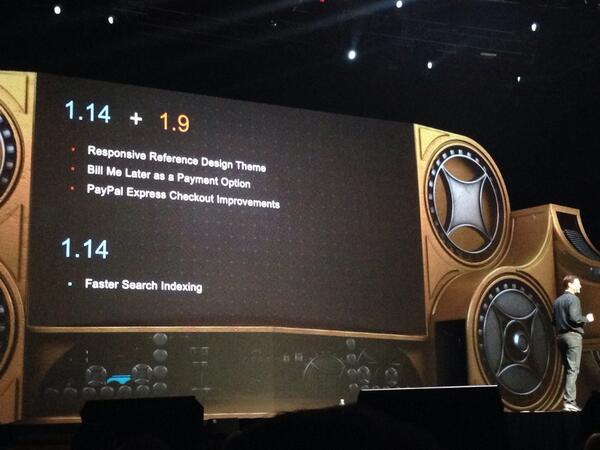 phoenix_medien: Features of the new #Magento versions #MagentoImagine http://t.co/1bOD6c21gp