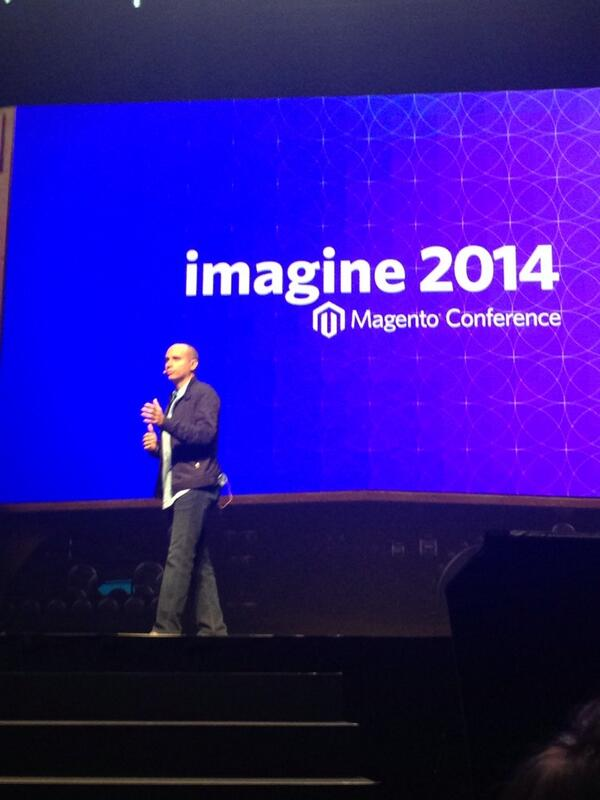 royerez: Kudos @royrubin05! Feel extremely proud of your accomplishments in changing an industry. I am! #MagentoImagine http://t.co/N5xHKf6E3d