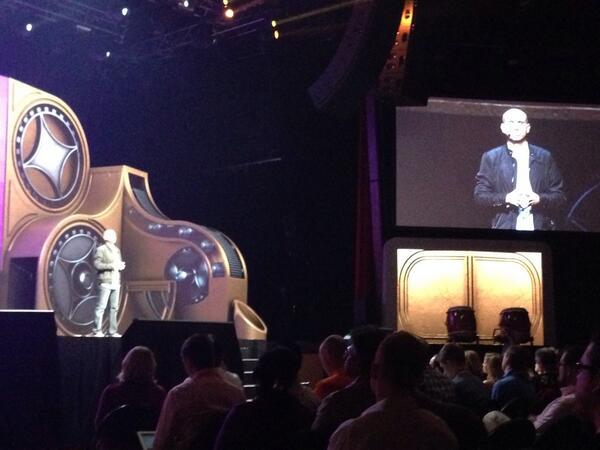 phoenix_medien: @royrubin05 starting his keynote #MagentoImagine http://t.co/JYjEmz33Vq