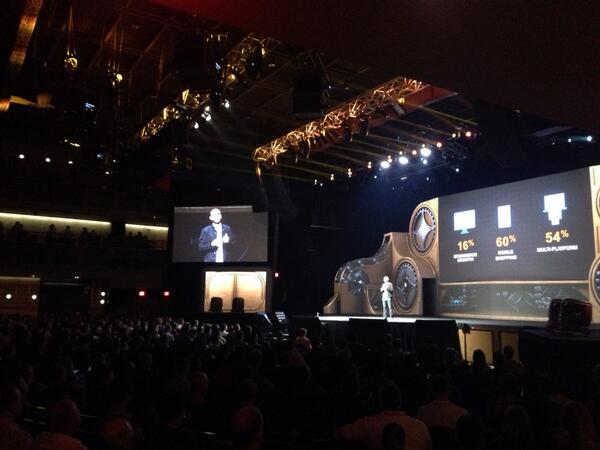 gsautereau: #magentoImagine @royrubin05 on stage http://t.co/X2JqkUHnhg