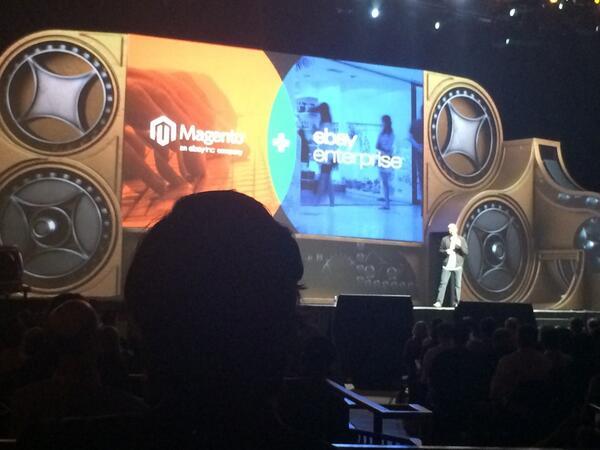 alan_james_kent: Roy Rubin on stage at #MagentoImagine talking about Magento + eBay enterprise. http://t.co/opUnwM15br