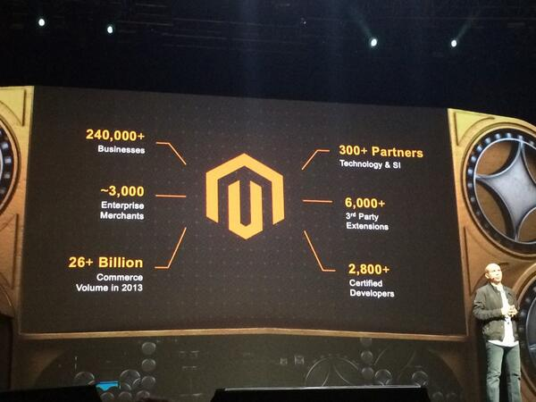 philippe_humeau: Some more stats at @magentoimagine http://t.co/2mIj0XG6Ir