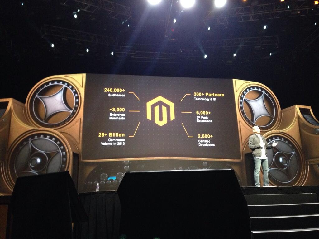 bobbyshaw: How do you like them numbers #MagentoImagine http://t.co/iMLQ81iuDv
