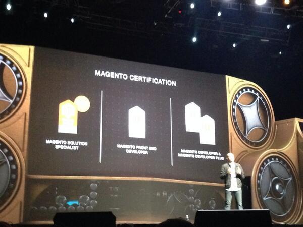 phoenix_medien: New certification: Magento Solution Specialist. We already got two certified  yesterday! #MagentoImagine http://t.co/7yTaDDG1mu