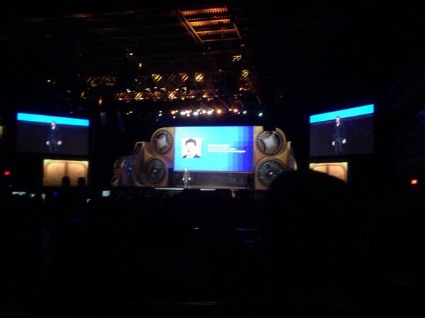 ebizmarts: The very own @mklave1 on stage! #MagentoImagine http://t.co/AgfZoG67wA