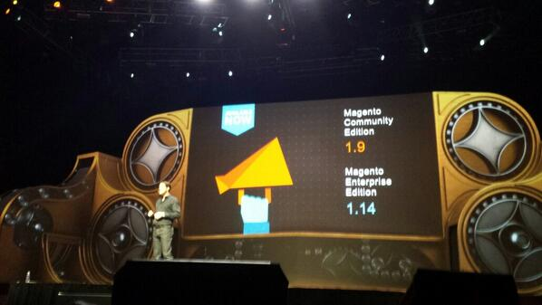 flagbit: Big anouncment 1.14 #enterprise is ready to be downloaded! Go for it :) #MagentoImagine http://t.co/upmgIDhSaL