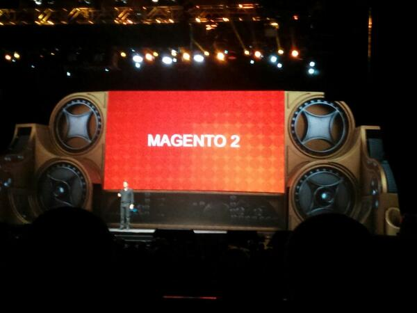 sweettooth: That's right; Magento 2 being discussed at #MagentoImagine http://t.co/3W8yEB3u7U