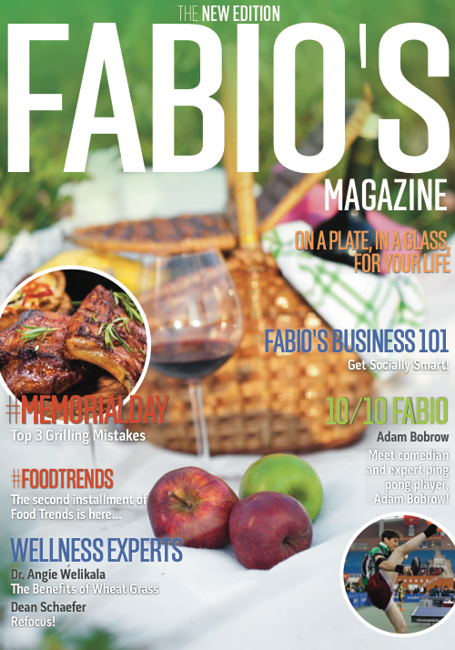 Are you ready for your #MemorialDay BBQ ? It's all in today's NEW issue of Fabio's Magazine ! http://t.co/4WeFIuoLIV http://t.co/3i3p8yqUUb