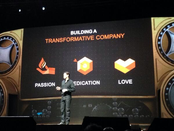 Michelledrucker: What you need to build a transforming company: passion, dedication and love #MagentoImagine http://t.co/jk0wm43nm3