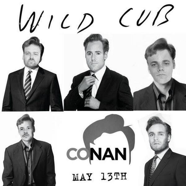 Tune In: @WildCubMusic perform tonight on @ConanOBrien cc: @TeamCoco http://t.co/kY8WAT1Zvp