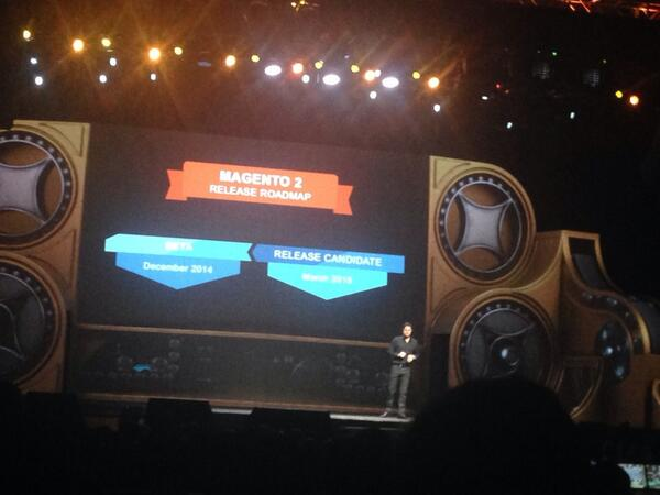 tinktaylor: Magento 2 update: Release candidate March 2015  #MagentoImagine http://t.co/qV3A63DZAW