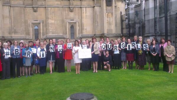 Female UK MPs are supporting international efforts to #BringBackOurGirls http://t.co/chnPLl70q2