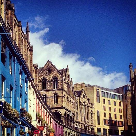 No better place than Edinburgh on a sunny day like today! We love this city. http://t.co/kqbIbgDCOB
