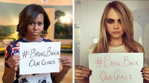 Celebrities have taken to social media for #BringBackOurGirls campaign http://t.co/vxWlHBimtg… http://t.co/gXkZdc5o3i