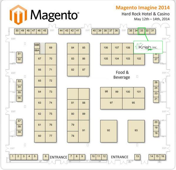 Krish_Inc: Let's talk! Visit us during #MagentoImagine, we're booth # 33! http://t.co/yMXTKg2MSO
