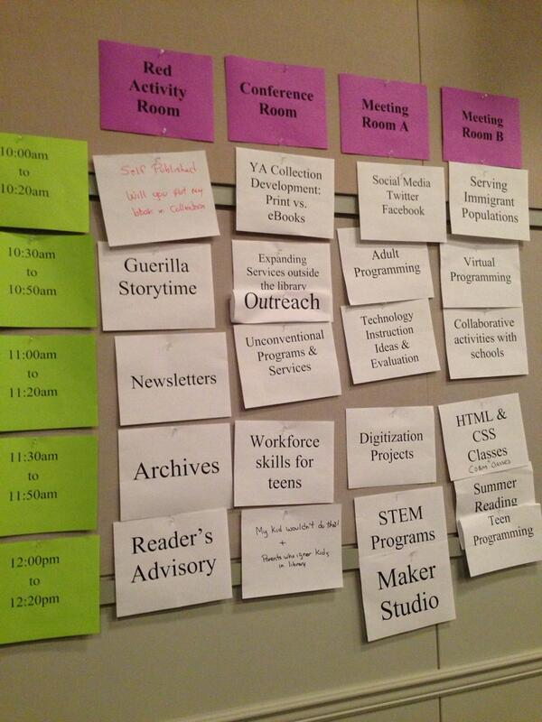 Thumbnail for Tweets from the LMx Unconference: Libraries Remixed