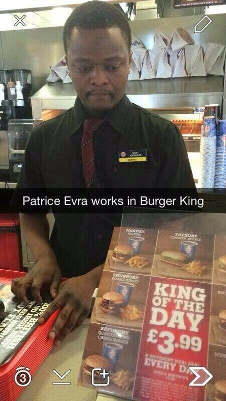 Evra is now employed by Burger King.. http://t.co/lIDtgKjkAi