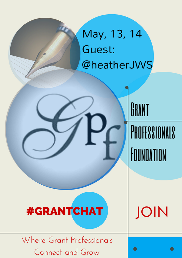 #grantchat Storify Transcript: 5/13: Grant Professionals Foundation