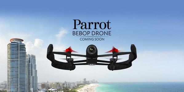 Want to be the 1st to know about #Parrot #BebopDrone? Visit our webpage and leave your email: http://t.co/O0ikD11pcS http://t.co/On0ctKseX7