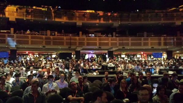 flagbit: #MagentoImagine the joint hall @HardRockHotelLV is filling up. #Magento #royrubin05 let the show begin!!! http://t.co/aUkBIXa4ts