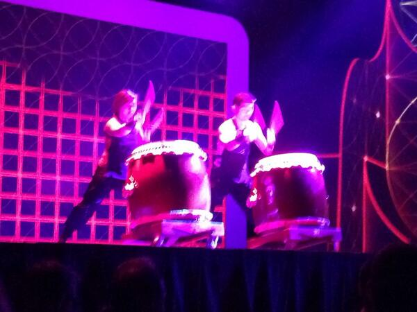 phoenix_medien: Wow, awesome Drummers #MagentoImagine http://t.co/Olbsq0hWK9