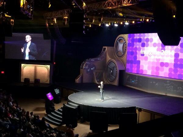 magento_rich: Roy on stage. #MagentoImagine http://t.co/qwZLkHhkeI