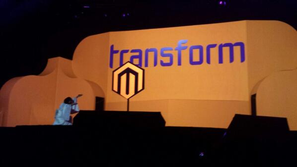 flagbit: And so the transformation begins #MagentoImagine #transformation http://t.co/j97oPbhnOi