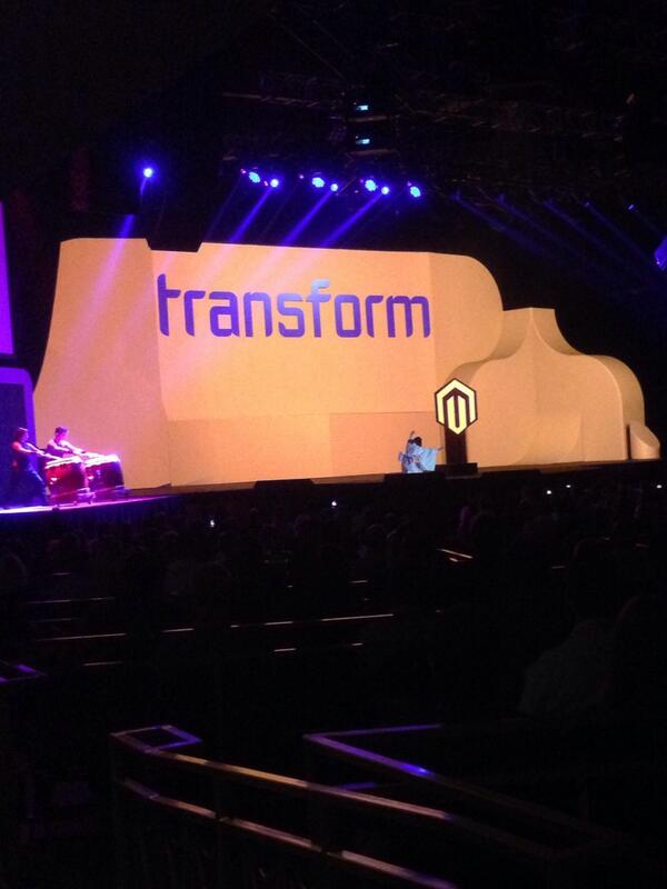 logicbroker: Day 2 of #MagentoImagine is here and the awesome keynote festivities have begun! http://t.co/R6UYlOUHPl