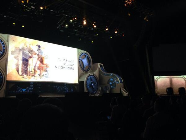phoenix_medien: @magento Fantastic stage setting again. Great job! #MagentoImagine http://t.co/TWxtG0MO75