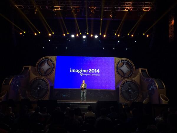blackbooker: Jamie Clark js out MC today!!! What? This is amazing!! #magentoimagine http://t.co/dBxpZADbLr